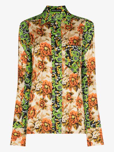 Floral button shirt