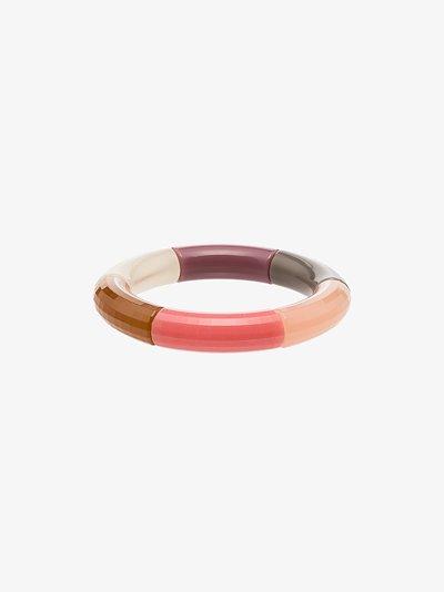 multicoloured Perfectly Round colour block bangle