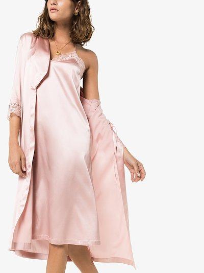 Adele Silk Lace Night Dress