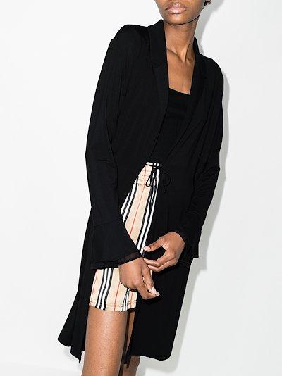 Layla lace short robe