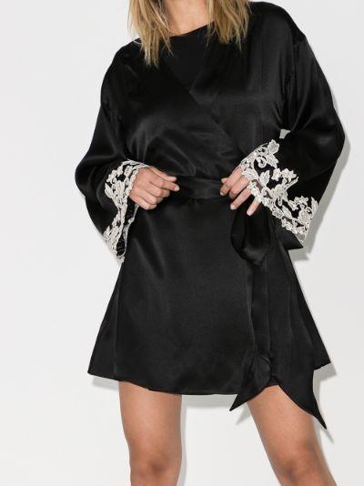Maison silk robe