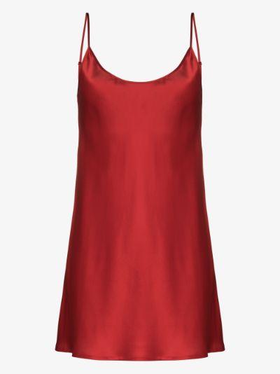 short silk nightdress