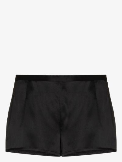 silk pyjama shorts