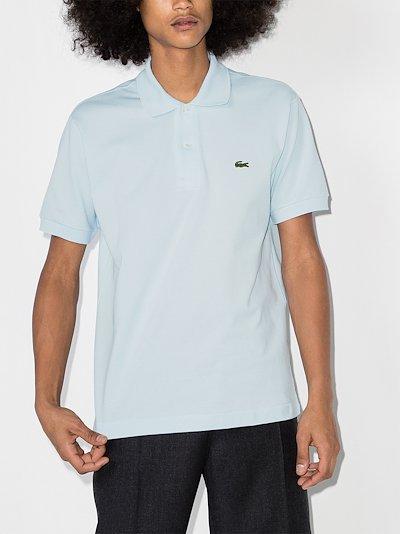 logo detail cotton polo shirt
