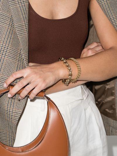 gold-plated Piera chain bracelet