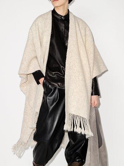 grey serape scarf