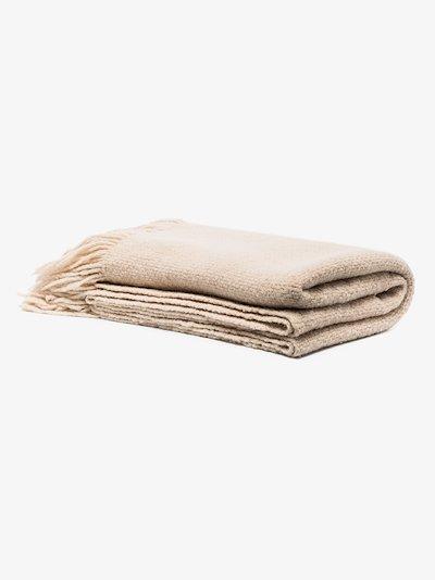Neutral wool Blanket