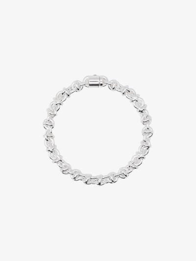 sterling silver Le 29g Entrelacs polished bracelet