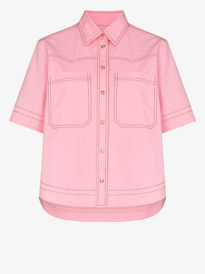 May patch pocket cotton shirt