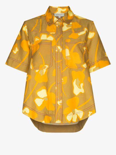 Wren floral boxy shirt