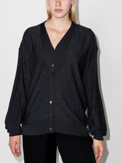 layered cardigan