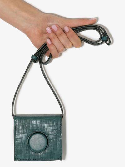 mini leather camera bag