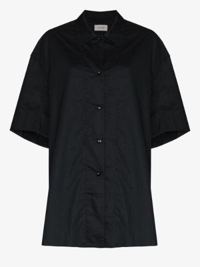 Twist front long line shirt