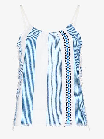Mizan striped camisole