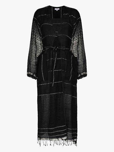 Tikuri cotton kaftan dress