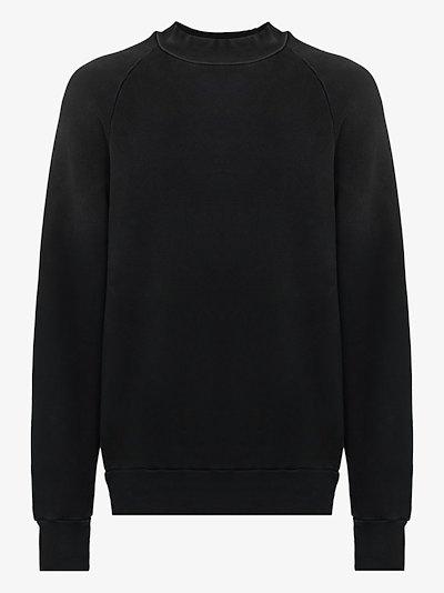 crew neck cotton sweatshirt
