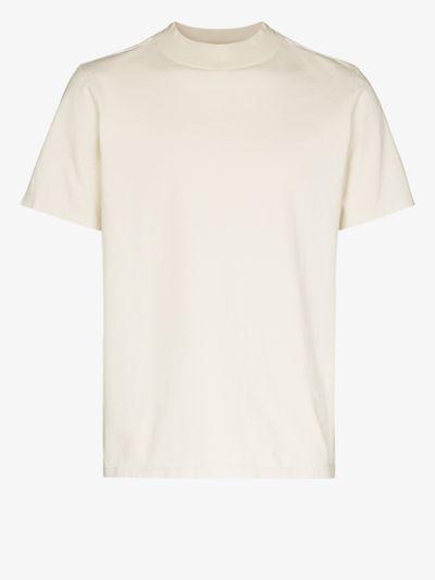 mock neck short sleeve T-shirt