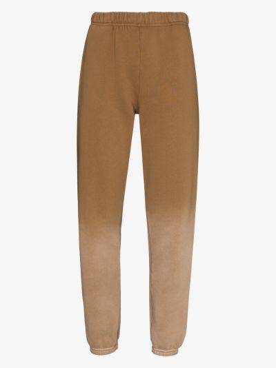 ombré cotton sweatpants
