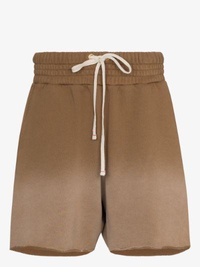ombré cotton yacht shorts