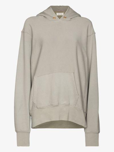 Oversized cotton hoodie