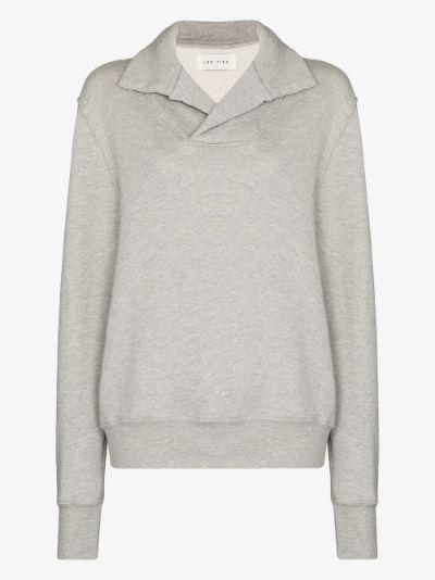 Yacht brushed cotton sweatshirt