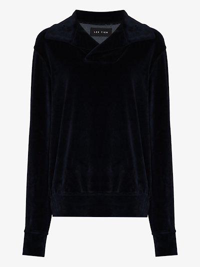Yacht collar sweater