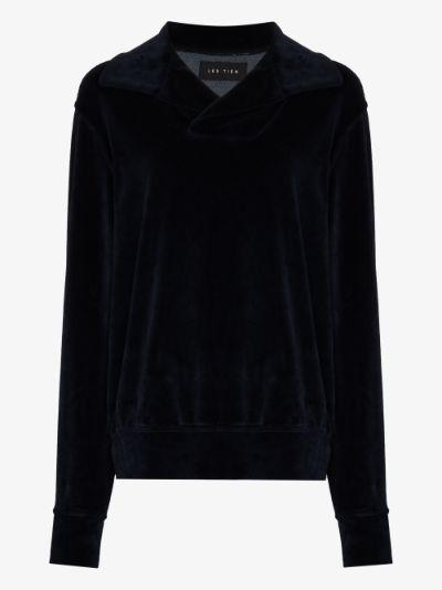 Yacht collared sweatshirt