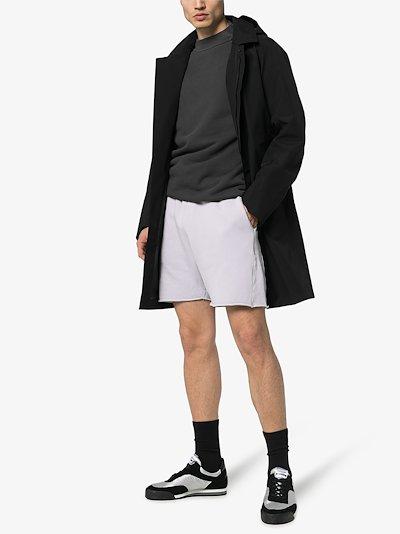 Yacht cotton track shorts