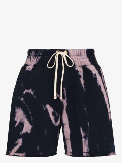 Yacht tie-dye shorts