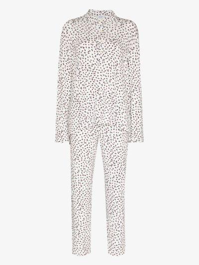 Nora floral print pyjamas