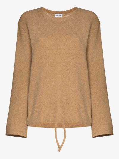 Sierra drawstring sweatshirt
