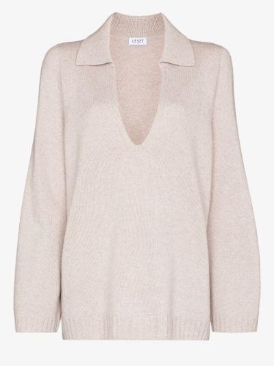 Zoe polo sweater