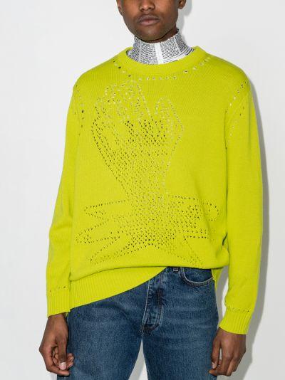 Thin ice cotton sweater