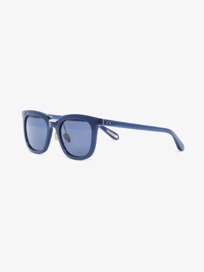blue Burton wayfarer sunglasses