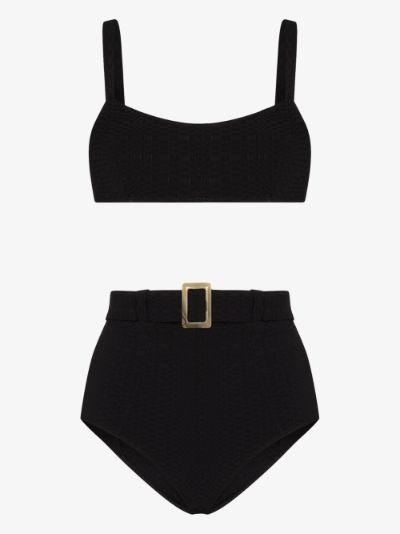 Genevieve belted bikini