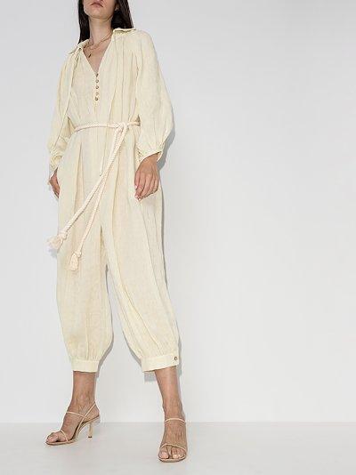 Poet organic linen jumpsuit