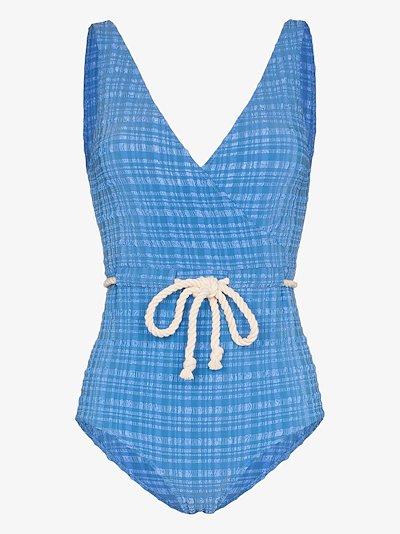 Yasmin drawstring swimsuit