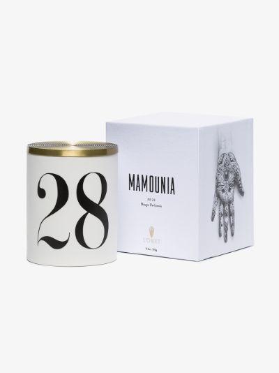 white Mamounia No. 28 candle