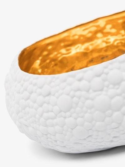 X Haas Brothers white Mojave Desert porcelain bowl