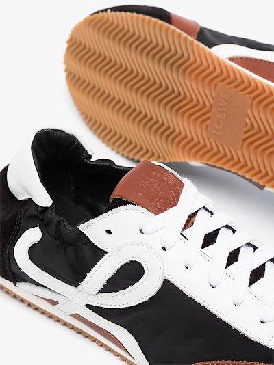 Black Ballet Runner suede sneakers
