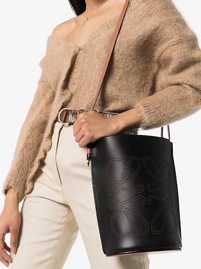 black Gate leather bucket bag