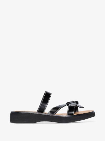 black Gate leather sandals