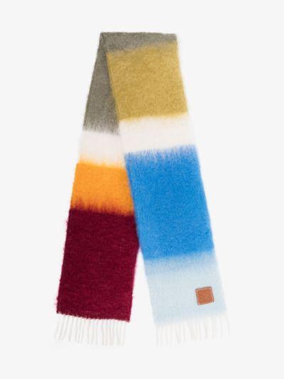 block-stripe scarf