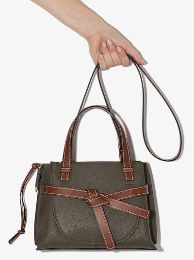 Green Gate mini leather tote bag