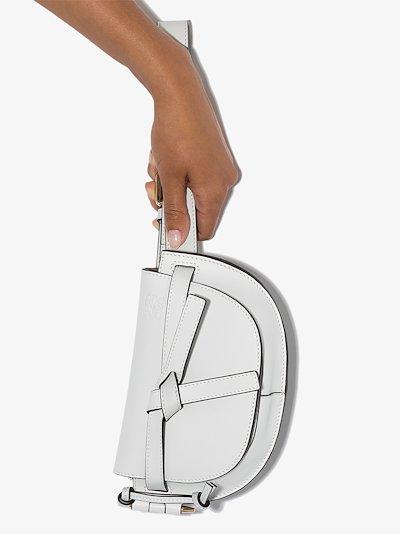 grey Gate leather belt bag