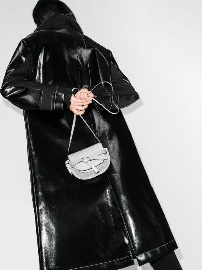 grey Gate mini leather cross body bag