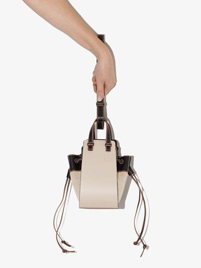neutral Hammock mini linen bag
