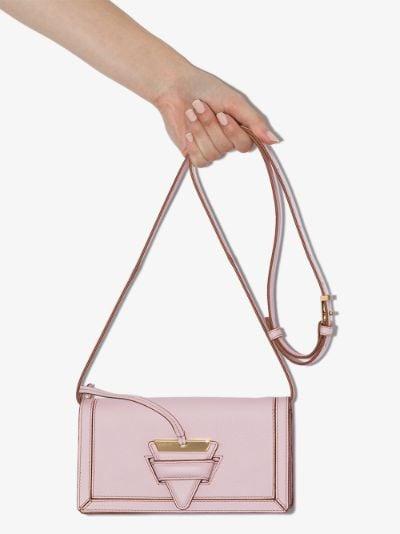 pink Barcelona mini leather cross body bag