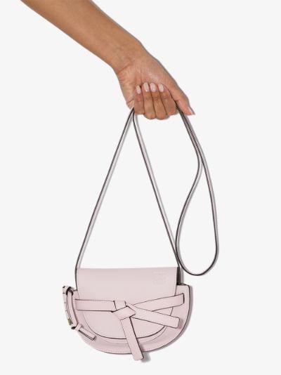 pink Gate mini leather cross body bag