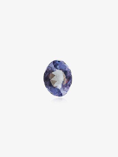 blue December tanzanite birthstone charm